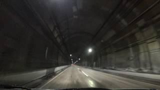 阪神高速32号新神戸トンネル:国道2号入口 → 箕谷JCT【HD車載動画】