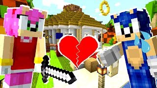 Minecraft Sonic The Hedgehog - Sonic And Amy Break Up!? [38]