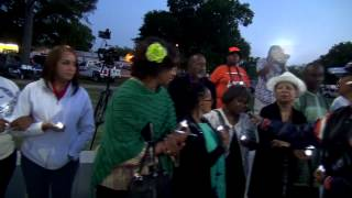 Black Heritage Society Candlelight Vigil 2015