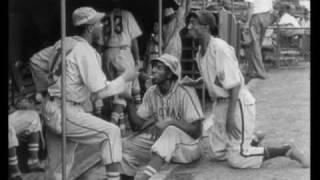"NEGRO LEAGUES BASEBALL1946 : Reece ""Goose"" Tatum, Indianapolis Clowns, Kansas City Monarchs"