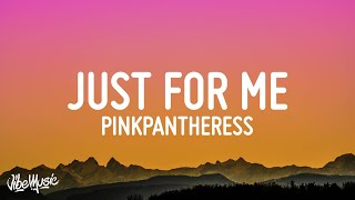 """Pinkpantheress - Just for me (Lyrics) """"when you wipe your tears do you wipe them just for me"""""""