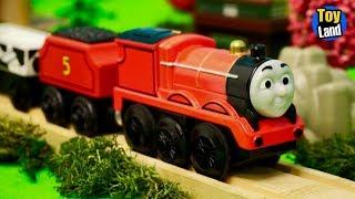 Іграшка поїзда в достатку дерев'яна залізниця іграшка 2 | країну іграшок