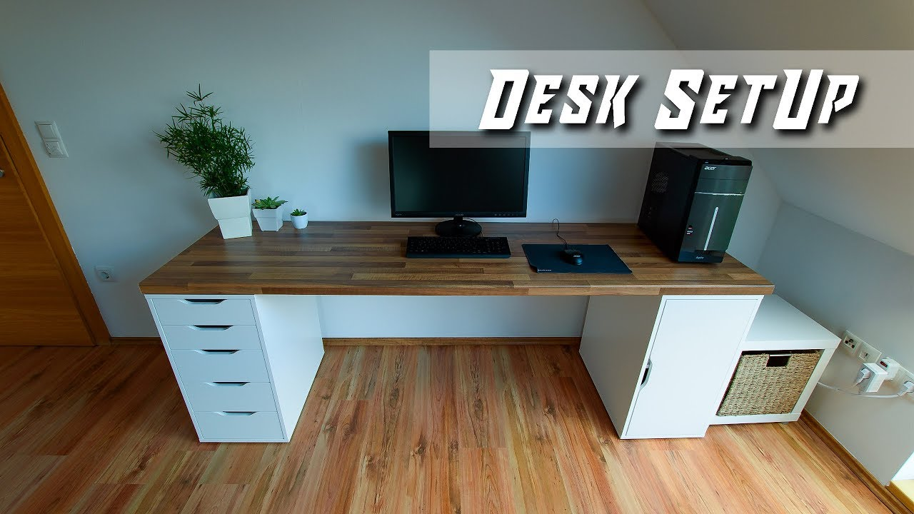 Impressive Modern Desk Setup For Office Gaming Building By Nerotec English