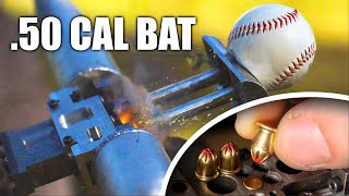Explosive Bat: crushing baseball records. Ft: Smarter Every Day