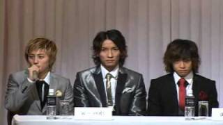w-inds. 「HEART AID SHISEN」記者会見