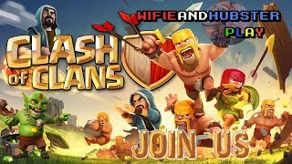 Clash of Clans LIVE 8/18 - Rockin' out w/ our CoC out! Join in!
