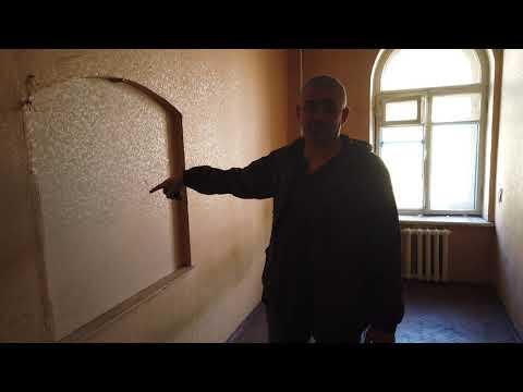 Начало демонтажа квартиры 140 м2 ВО. Старый Фонд Санкт-Петербурга.