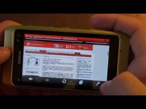 Nokia N8 Review - Part V - Internet Browser, Opera Mobile, Internet TV, Ipla, YouTube - LuinHD