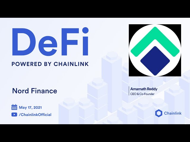 Chainlink Live | Nord Finance: A Vision for High-Yield Multichain DeFi