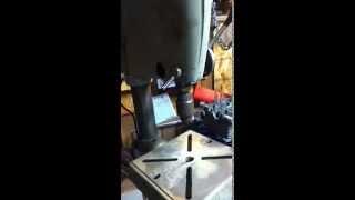 Vintage Craftsman 150 Floor Model Drill Press Running