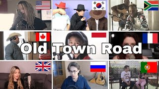 Who Sang It Better : Lil Nas X - Old Town Road (us,uk,canada,russia,french)