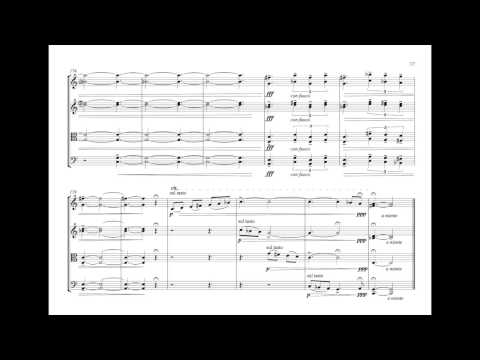 Constant Goddard - String quartet No 1/II