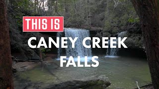 This is Alabama's Caney Creek Falls! thumbnail