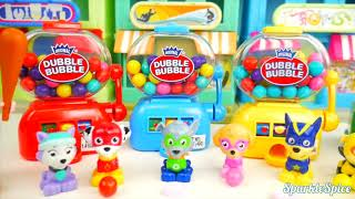 Paw Patrol Chase Bulldog Baby Doll LOL Surprise, Skye Eats M&M's Jail Rescue, LEARN COLORS