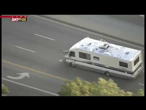 BIZARRE POLICE CHASE: Woman allegedly steals RV, causes two crashes prior to arrest