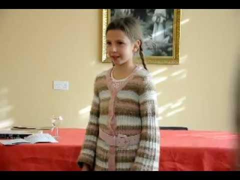 Belarusian-British Children Read Poems in Belarusian