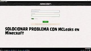 How to fix minecraft error login mc leaks 2017 update