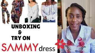 Affordable Curvy Girl Try On SAMMYDRESS Unboxing Review & Try On Haul / Cheap Clothing Review /