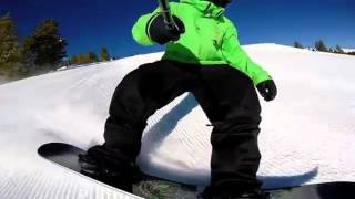 Карвинг на сноуборде Часть 2