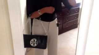 """Quick outfit of the day with my Tory Burch Reva Clutch"" Thumbnail"