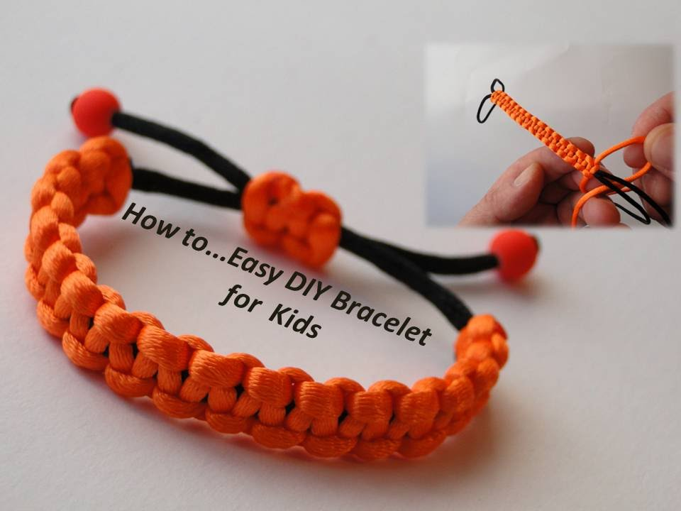 Simple Macrame Bracelet Tutorial Howto DIY Easy