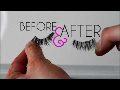 QUICK TIP! How To Fix Old False Lashes   Makeup By Leyla