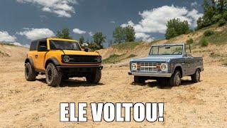 Novo Ford Bronco virá para o Brasil!!!