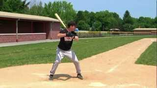 1/12.  Proper Baseball Batting Stance; Improve Hitting Mechanics, Swing Analysis, Instruction, Tips