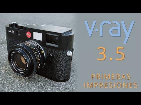Vray 3.5 Primeras impresiones IPR y Glossy Fresnel