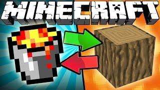 MineCraft Сериалы #5 ЕСЛИ БЫ ДЕРЕВО И ЛАВА ПОМЕНЯЛИСЬ МЕСТАМИ
