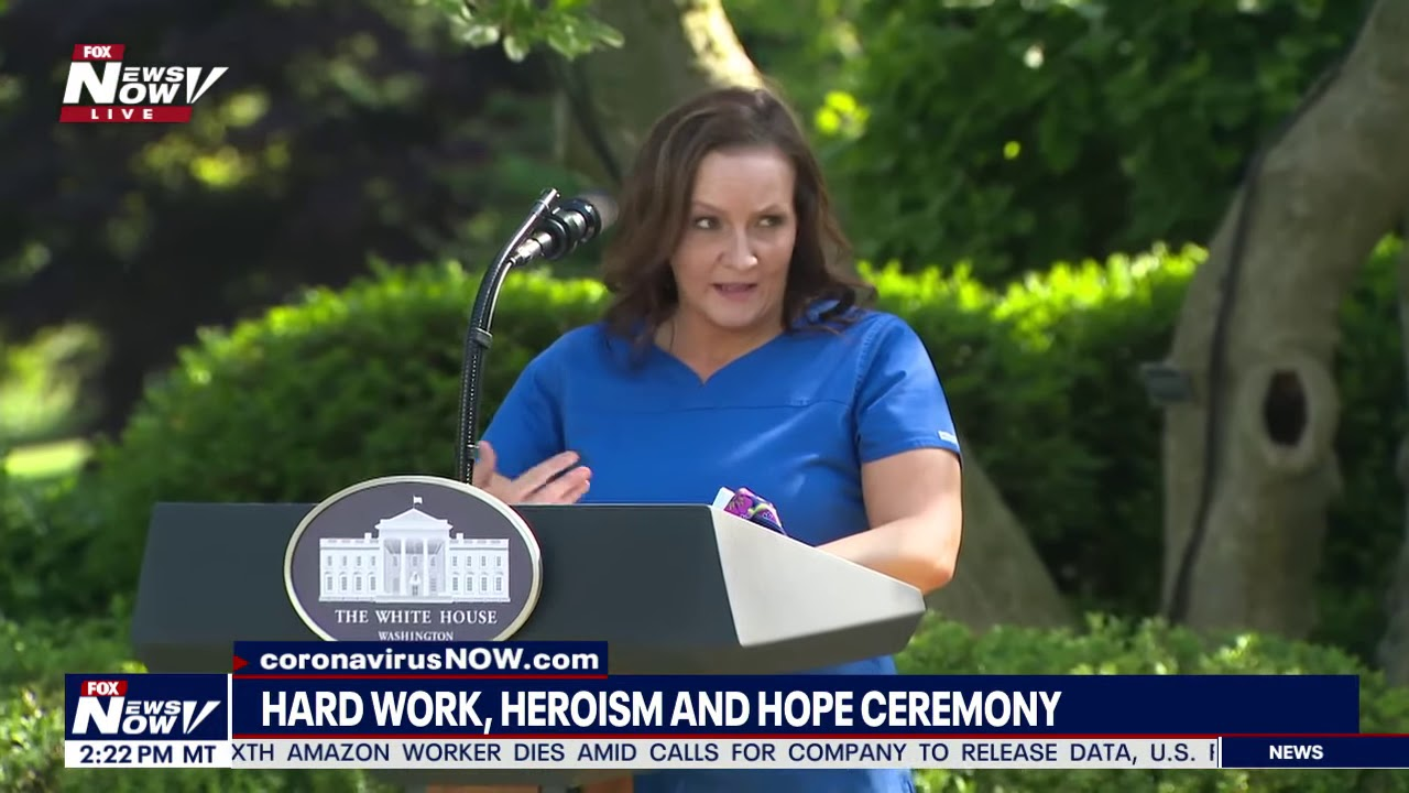 HARD WORK, HEROISM AND HOPE CEREMONY