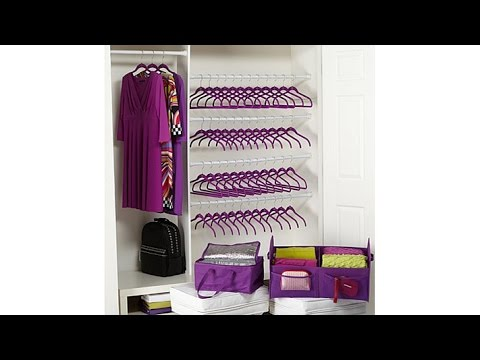 Huggable Hangers 50pc Wow Set w/Huge Organizer   Insulat...