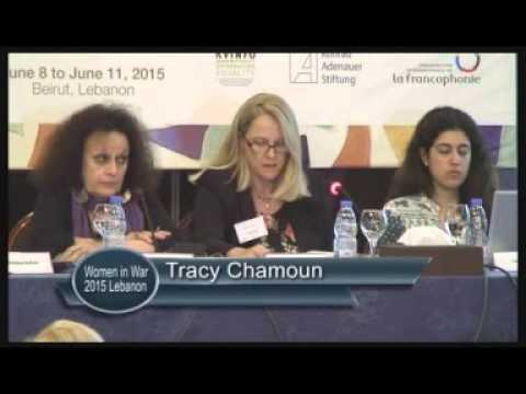 3  Women in War Annual  Conference, Beirut, June  2015