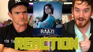 RAAZI | Alia Bhatt | Vicky Kaushal | Trailer Reaction!!!