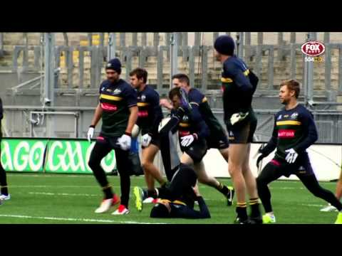 International Rules 2015  1st Test Ireland v Australia Full Match Replay