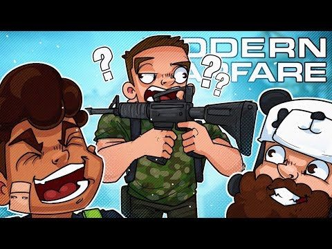 More Call Of Duty Modern Warfare where we try to win in stupid ways