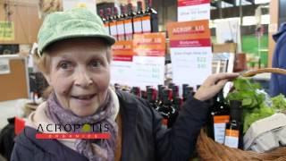 Acropolis Organics Mousto Balsamic Vinegar And Extra Virgin Olive Oil Salad Dressing