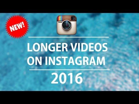 How To Upload Longer Instagram Videos!