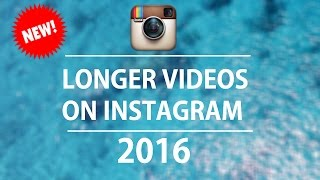 How To Upload Longer Instagram Videos!