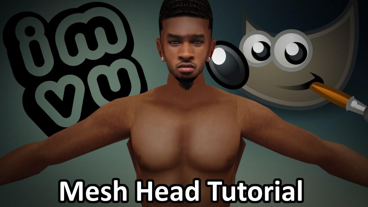 Full Mesh Head Video Tutorial by Vladdy@IMVU