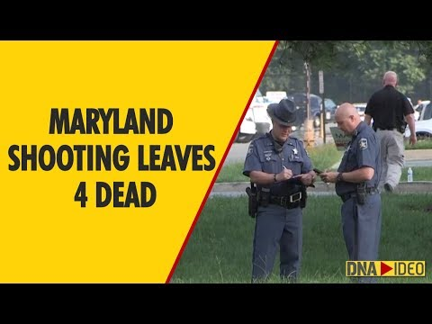 Maryland shooting leaves 4 dead, including suspect