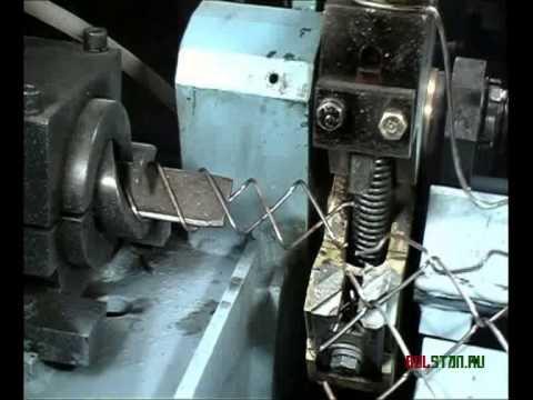 Полуавтомат для изготовления сетки рабицы СВС 3