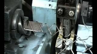 Полуавтомат для изготовления сетки рабицы СВС 3(Станок для производства сетки предназначен для изготовления полотна стальных сеток с квадратными и ромбич..., 2014-10-14T10:59:41.000Z)