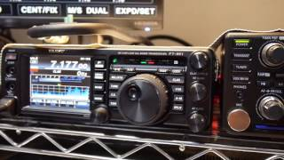 comparing icom ic 7300 vs yaesu ft 991