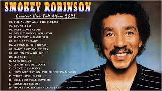 SMOKEY ROBINSON Greatest Hits Full Album - The Best Songs  Smokey Robinson Collection