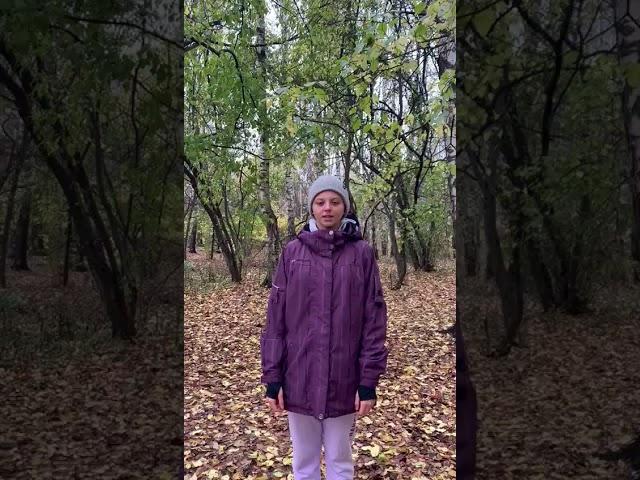 Изображение предпросмотра прочтения – ВарвараБронски читает произведение «На небесном синем блюде» С.А.Есенина