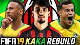 THE AC MILAN BRAZIL REBUILD CHALLENGE!!! FIFA 19 Career Mode