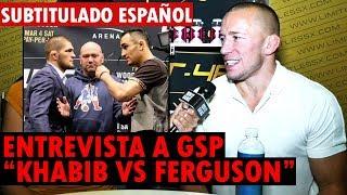 """GSP: """"A Tony Ferguson le gusta pelear sucio, El estilo hace la pelea difícil de predecir"""" SUB"""