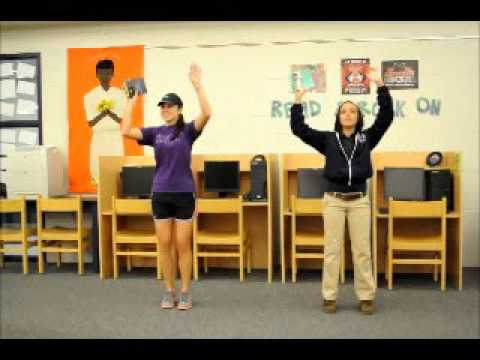 Semmes Middle School Flash Mob Demo