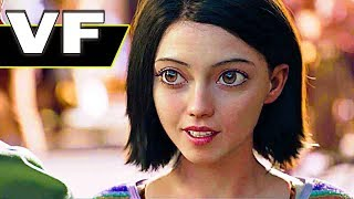 ALITA BATTLE ANGEL Bande Annonce VF ✩ James Cameron, Robert Rodriguez, Science-Fiction 2018